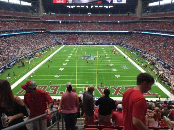 NRG Stadium, secção: 351, fila: Q, lugar: 24