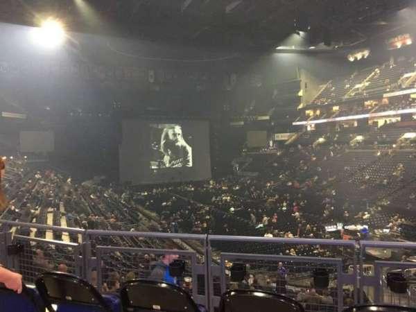 Nationwide Arena, secção: 111, fila: Aca