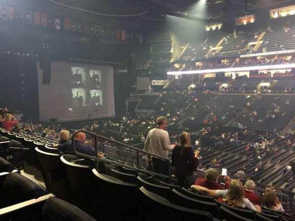 Nationwide Arena, secção: 112, fila: Y, lugar: 22