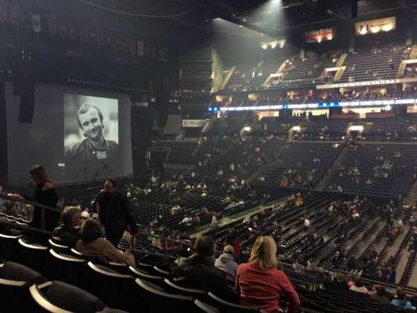Nationwide Arena, secção: 113, fila: Y, lugar: 11