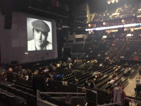 Nationwide Arena, secção: 114, fila: P, lugar: 17