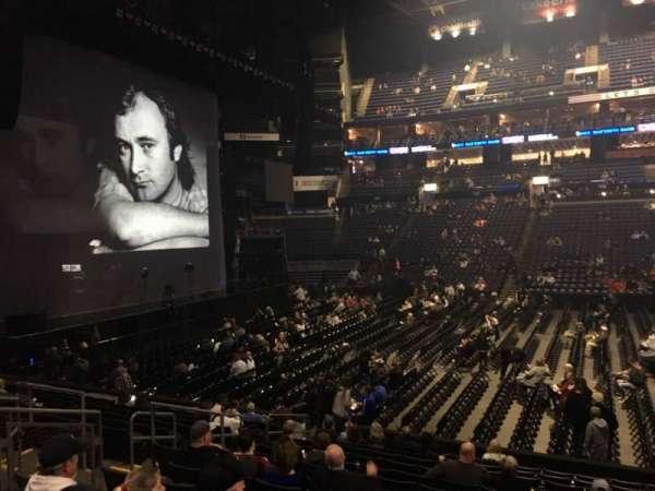 Nationwide Arena, secção: 115, fila: P, lugar: 7