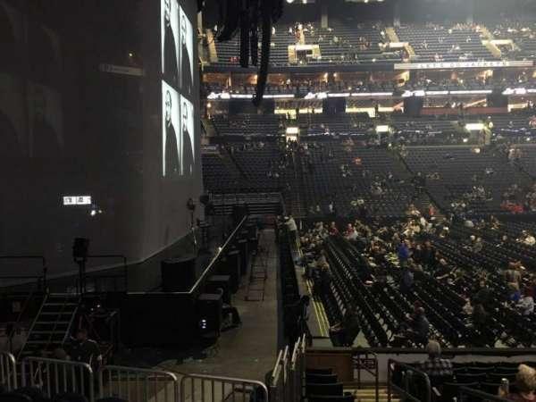 Nationwide Arena, secção: 117, fila: M, lugar: 2