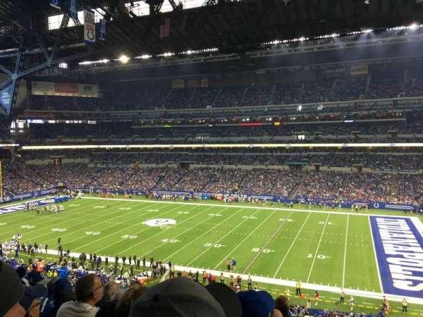 Lucas Oil Stadium, secção: 337, fila: 5, lugar: 1