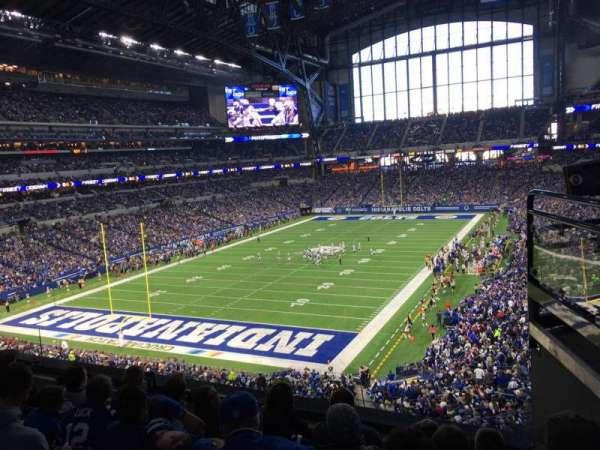 Lucas Oil Stadium, secção: 324, fila: 4, lugar: 2