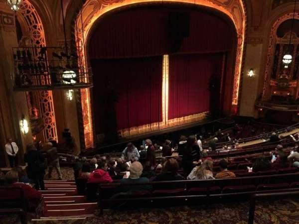 Shea's Buffalo, secção: Balcony 6, fila: L, lugar: 47