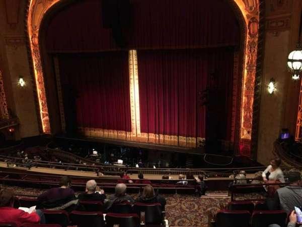 Shea's Buffalo, secção: Balcony 2, fila: G, lugar: 26