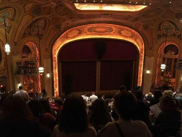 Shea's Buffalo, secção: Balcony 5, fila: U, lugar:  19