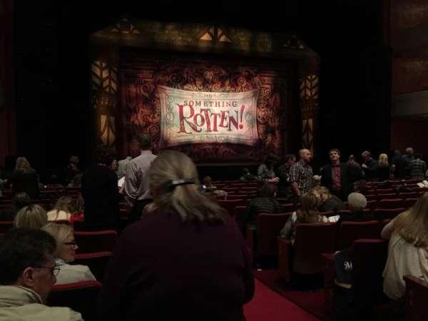 Fox Cities Performing Arts Center, secção: Orchestra L, fila: K, lugar: 110