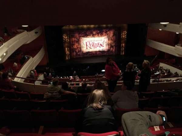 Thrivent Hall at Fox Cities Performing Arts Center, secção: Grand Tier, fila: F, lugar: 319