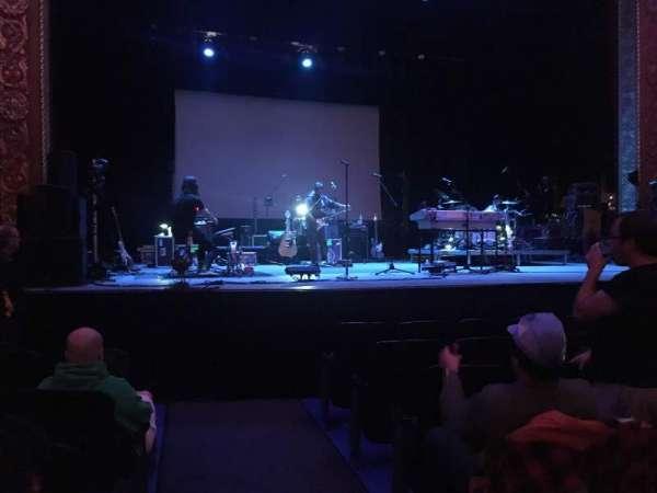 Michigan Theater, secção: Orchestra L, fila: G, lugar: 1