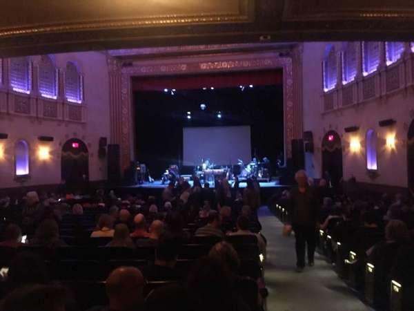 Michigan Theater, secção: Orchestra C, fila: Y, lugar: 114