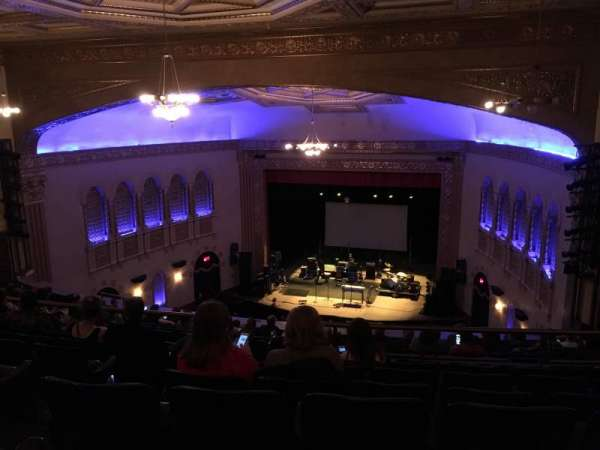 Michigan Theater, secção: Balcony R, fila: P, lugar: 10