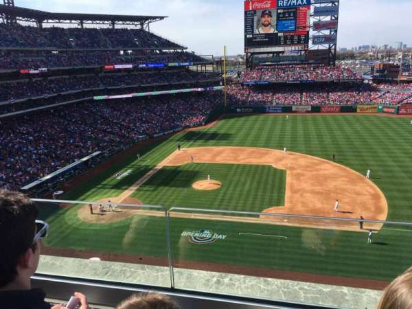 Citizens Bank Park, secção: 315, fila: 2, lugar: 5