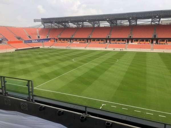 BBVA Compass Stadium , secção: PC1
