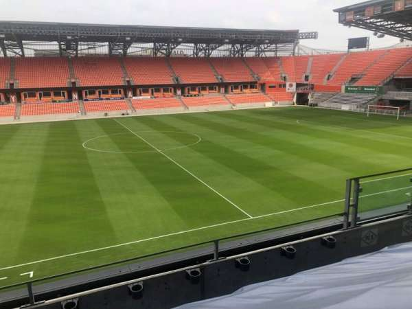 BBVA Compass Stadium , secção: PC5