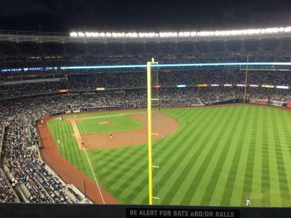 Yankee Stadium, secção: 307, fila: Standing