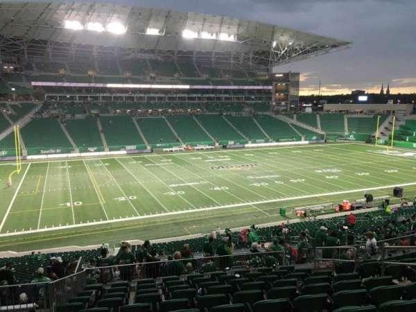 Mosaic Stadium, secção: 320, fila: 11, lugar: 8