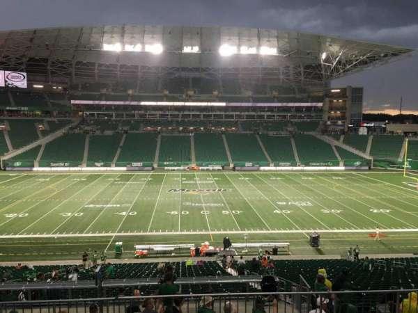 Mosaic Stadium, secção: 315, fila: 4, lugar: 6