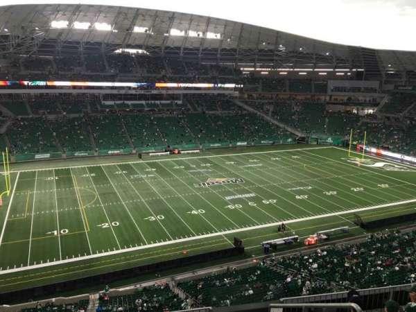 Mosaic Stadium, secção: 542, fila: 12, lugar: 3