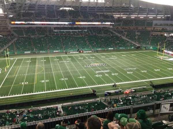 Mosaic Stadium, secção: 541, fila: 12, lugar: 6