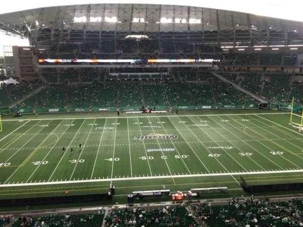 Mosaic Stadium, secção: 539, fila: 9, lugar: 20