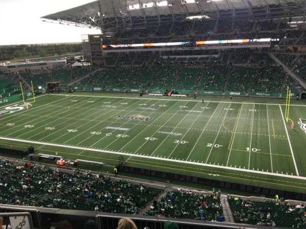 Mosaic Stadium, secção: 535, fila: 11, lugar: 24