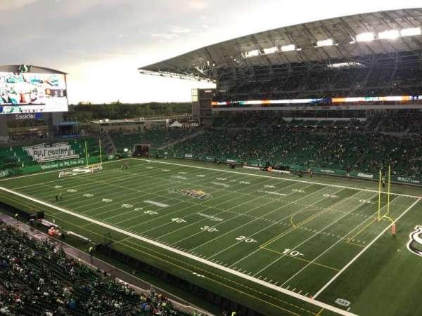 Mosaic Stadium, secção: 532, fila: 7, lugar: 4