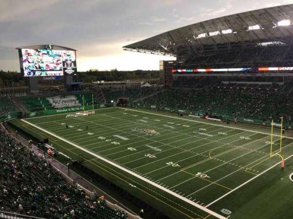 Mosaic Stadium, secção: 531, fila: 6, lugar: 12
