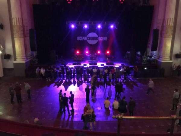 Usher Hall, secção: Dress Circle, fila: C, lugar: 46