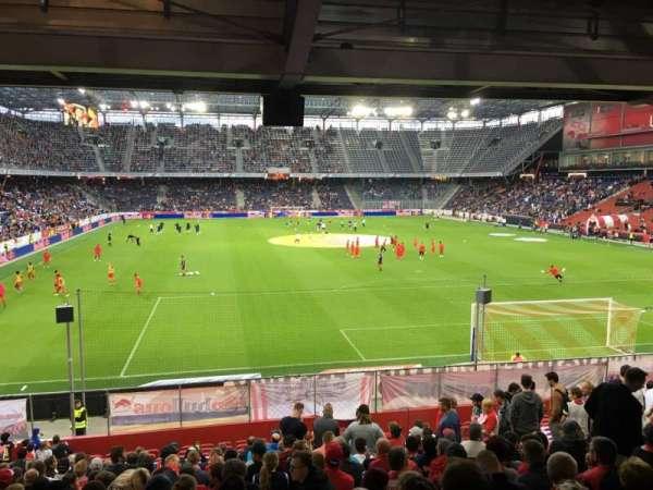 Red Bull Arena (Salzburg), secção: A13, fila: 20, lugar: 15