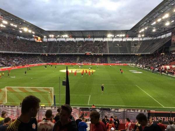 Red Bull Arena (Salzburg), secção: A12, fila: 17, lugar: 19