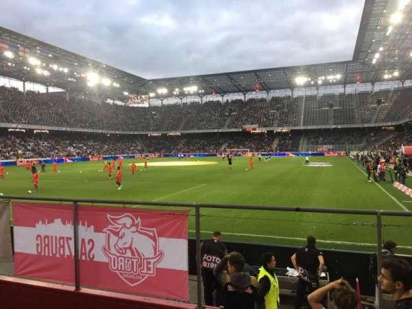 Red Bull Arena (Salzburg), secção: A11, fila: 6, lugar: 19