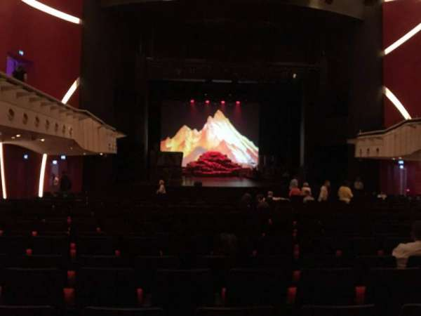 Deutsches Theater, secção: Parkett, fila: 23, lugar: 21