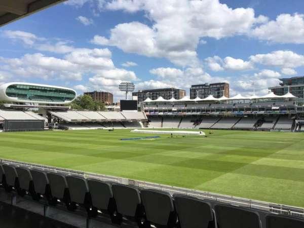 Lord's Cricket Ground, secção: Grandstand A, fila: 12, lugar: 43