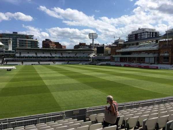 Lord's Cricket Ground, secção: Grandstand A, fila: 10, lugar: 43