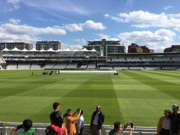 Lord's Cricket Ground, secção: Grandstand B, fila: 7, lugar: 69