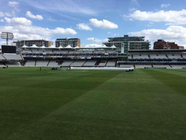 Lord's Cricket Ground, secção: Grandstand A, fila: 2, lugar: 60