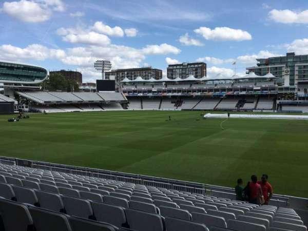 Lord's Cricket Ground, secção: Grandstand B, fila: 11, lugar: 62