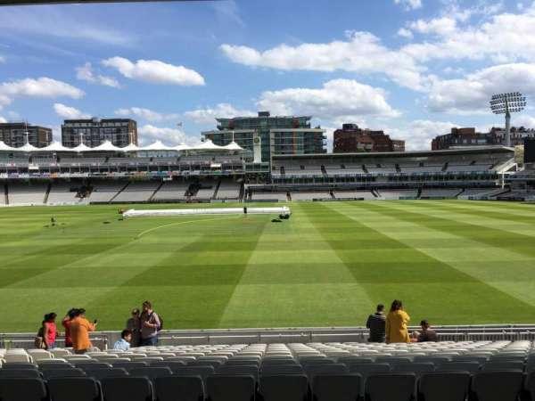 Lord's Cricket Ground, secção: Grandstand B, fila: 14, lugar: 54