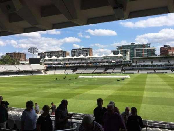 Lord's Cricket Ground, secção: Grandstand A, fila: 15, lugar: 41