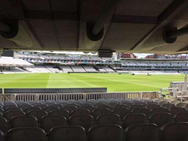 Lord's Cricket Ground, secção: Grandstand D, fila: 10, lugar: 10