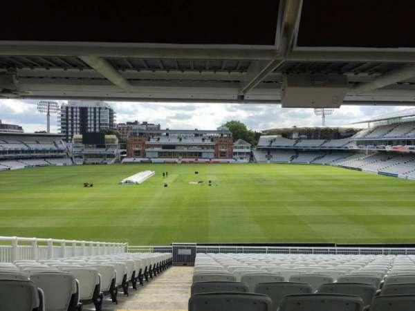 Lord's Cricket Ground, secção: J, fila: V, lugar: 59