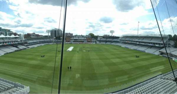 Lord's Cricket Ground, secção: Media Center, fila: 1, lugar: 26