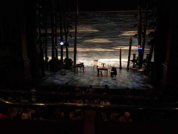 Phoenix Theatre, secção: Grand Circle, fila: A, lugar: 13