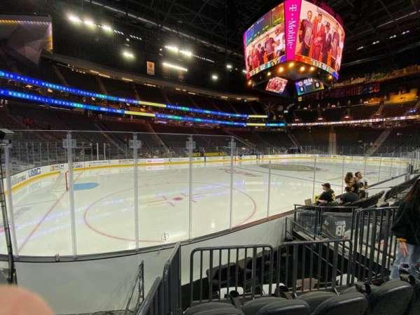 T-Mobile Arena, secção: 13, fila: C, lugar: 6