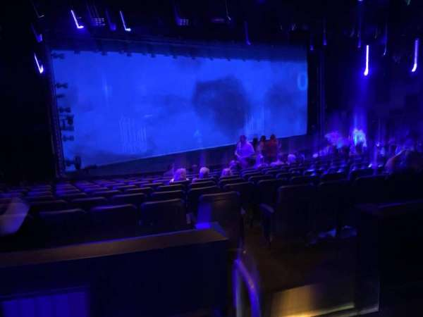 Blue Man Group Theater, secção: 202, fila: Cc, lugar: 10
