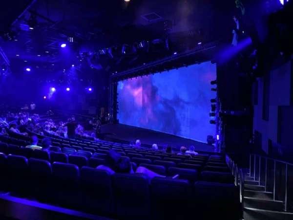 Blue Man Group Theater, secção: 204, fila: Bb, lugar: 63
