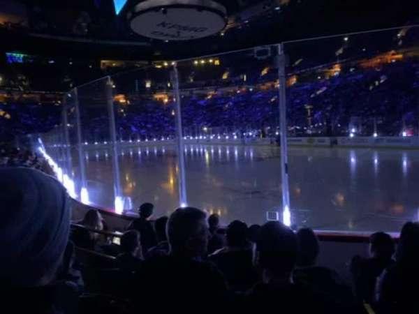 Rogers Arena, secção: 103, fila: 5, lugar: 5