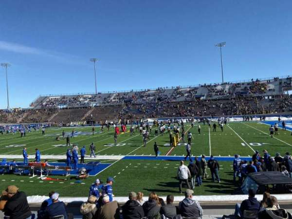 Falcon Stadium, secção: L6, fila: N, lugar: 22